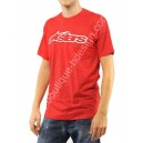 T-shirt Alpinestars Blaze Basic rouge